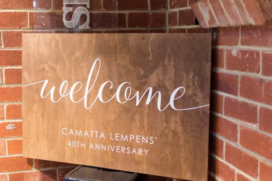 Welcome to Camatta Lempens 40th Anniversary